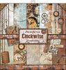"""Clockwise - Stamperia Double-Sided Paper Pad 12""""X12"""" 10/Pkg"""