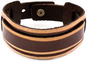 Layered Strap W/Snap Enclosure - Tim Holtz Assemblage Cuff Bracelet