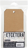 Tim Holtz #8 Tag These chipboard tags have a thick sturdy surface that can be collaged, altered and embellished. This package contains five 3x6.25 inch chipboard tags and five 625x.625 inch reinforcers. Made in USA.