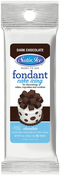 Chocolate - Satin Ice Packaged Fondant 4oz
