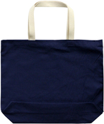 "Navy - Large Tote 18""X16""X3"""
