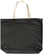 "Charcoal - Large Tote 18""X16""X3"""