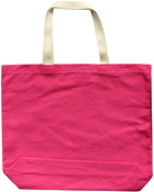 "Pink - Large Tote 18""X16""X3"""