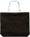 "Brown - Large Tote 18""X16""X3"""