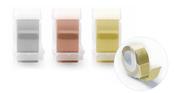 Metallic 3/4 Inch Emboss Tape - 3 Rolls - WeR
