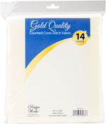 """Ivory - Design Works Gold Quality Aida 14 Count 60""""X36"""""""