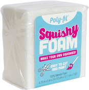 "4.75""X5""X3"" - Fairfield Poly-Fil Squishy Foam"