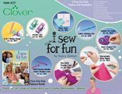 "Box Size 14""X10""X2"" Contains 10pc - Clover I Sew For Fun Bundle By Nancy Zieman"
