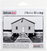 "Boat Shed - Darkroom Door Cling Stamp 4.6""X3.2"""