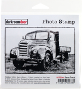 "Farm Truck - Darkroom Door Cling Stamp 4.6""X3.2"""