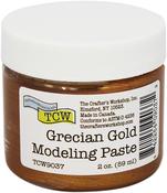 Grecian Gold - Crafter's Workshop Modeling Paste 2oz