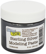 Sterling Silver - Crafter's Workshop Modeling Paste 2oz