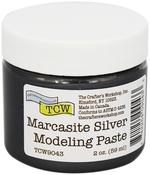 Marcasite Silver - Crafter's Workshop Modeling Paste 2oz