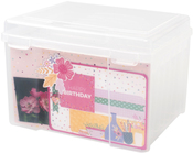 File Organizer - We R Craft & Photo Translucent Plastic Storage