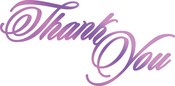 """Thank You 3.3""""X1.6"""" - Couture Creations Every Day Sentiments Hotfoil Stamp"""