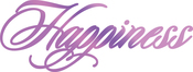 """Happiness 3.3""""X1.2"""" - Couture Creations Every Day Sentiments Hotfoil Stamp"""