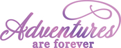 """Adventures 3.7""""X1.4"""" - Couture Creations Every Day Sentiments Hotfoil Stamp"""