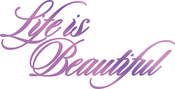 """Life Is Beautiful 4.5""""X2.3"""" - Couture Creations Every Day Sentiments Hotfoil Stamp"""