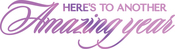 """Amazing Year 5.3""""X1.4"""" - Couture Creations Every Day Sentiments Hotfoil Stamp"""