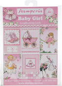 "Baby Girl - Stamperia Cards Pad 4.5""X6.5"" 24/Pkg"