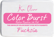 "Fuchsia - Ken Oliver Color Burst 3.75""X2.5"" Stamp Pad"