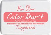 """Tangerine - Ken Oliver Color Burst 3.75""""X2.5"""" Stamp Pad"""