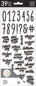 Numbers & Special Days - Big - Happy Planner Clear Stamps