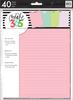 Colored - Happy Planner Medium Fill Paper 40/Pkg