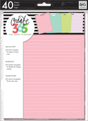 Colored - Happy Planner Medium Fill Paper 40/Pkg