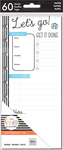 Travel - Happy Planner Medium Half Sheet Fill Paper 60/Pkg