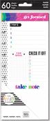 Focus - Happy Planner Medium Half Sheet Fill Paper 60/Pkg