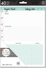 Projects - Happy Planner Medium Fill Paper 40/Pkg