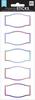 Rainbow Mirrors, 15/Pkg - Me & My Big Ideas Label Stickers