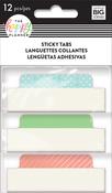 Pastel - Happy Planner Medium Sticky Tabs 12/Pkg