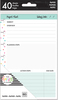 "Project - Happy Planner Mini Fill Paper 4.5""x7"" 40/Pkg"