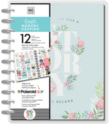 My Story W/Metal Discs - Happy Memory Keeping Undated 12-Month Big Planner