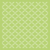 "Lattice - Kaisercraft Designer Template 6""X6"""