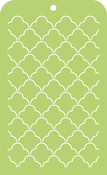 "Scallop Lattice - Kaisercraft Mini Designer Templates 3.5""X5.75"""