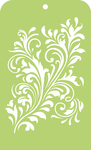 "Fancy Flourish - Kaisercraft Mini Designer Templates 3.5""X5.75"""