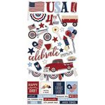 Hometown USA Sticker Sheet - Simple Stories - PRE ORDER