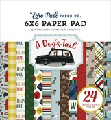 A Dogs Tail 6 x 6 Paper Pad - Echo Park