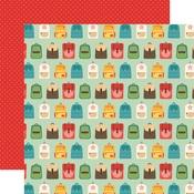 Backpacks Paper - Back To School - Echo Park - PRE ORDER