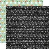 Chalkboard Cursive Paper - Back To School - Echo Park