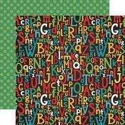 Alphabet Scramble Paper - Back To School - Echo Park