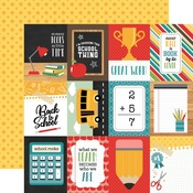 3 x 4 Journaling Cards Paper - Back To School - Echo Park