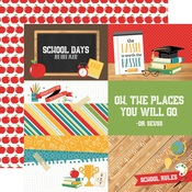 4 x 6 Journaling Cards Paper - Back To School - Echo Park