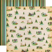Campout Paper - Gone Camping - Carta Bella