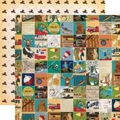 Multi Journaling Cards Paper - Gone Camping - Carta Bella