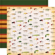 Fly Fishing Paper - Gone Camping - Carta Bella