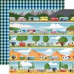 Happy Campers Paper - Gone Camping - Carta Bella - PRE ORDER